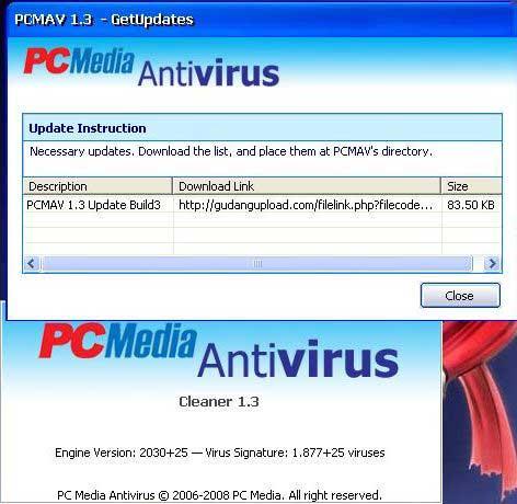 pcmav antivirus download